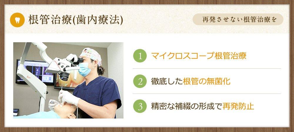 精密・根管(神経)治療・虫歯