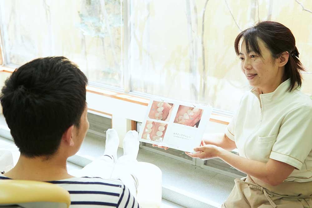 予防歯科専用のリラックスルーム