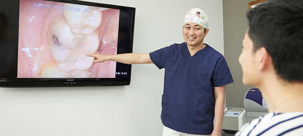 精密治療で歯を守りたい